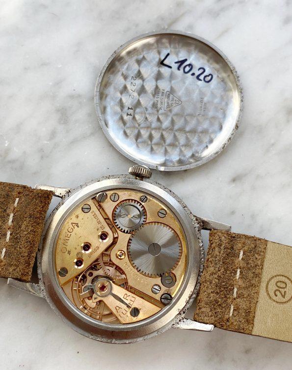 Serviced 37mm Omega Oversize Jumbo Vintage Cream Dial