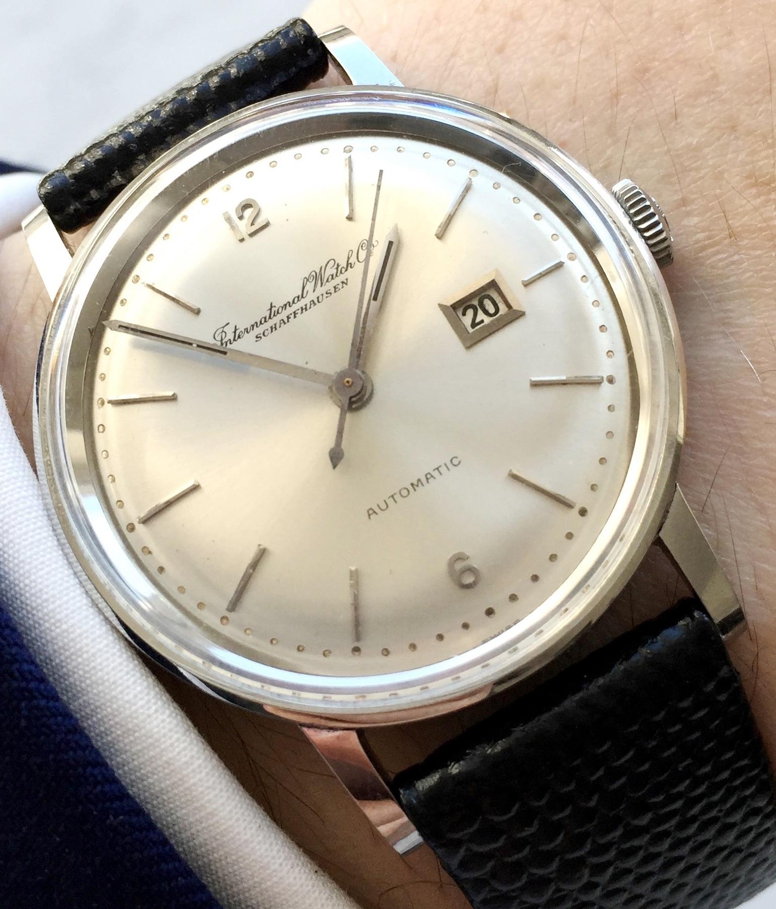 Beautiful IWC Vintage Dress Watch Automatic Cal 8531