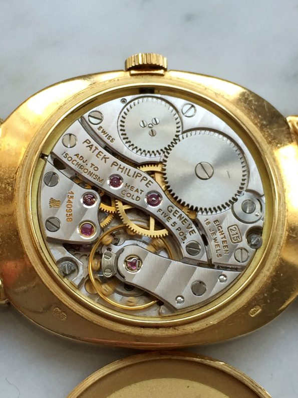 Vintage Patek Phillipe Ellipse Vollgold GÜNSTIG