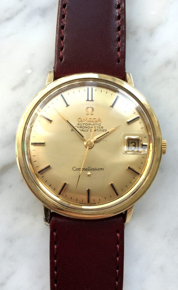 Vintage Omega Constellation Automatic Date Gold Plated