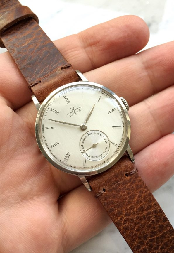 Rare 36mm Omega CHRONOMETER Handwinding 30T2 RG
