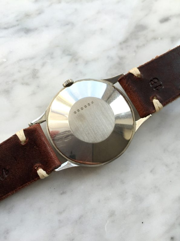 Beautiful Jaeger LeCoultre Handwinding Steel Cream dial