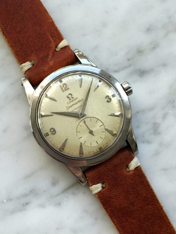 Early Vintage Omega Seamaster Bumper Automatic