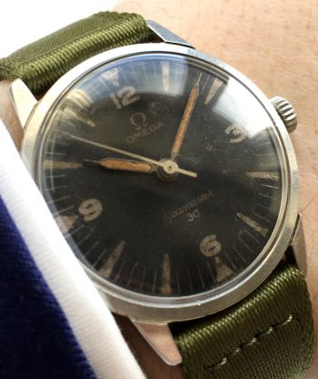 Military Omega Seamaster 30 PAF Pakistan Air Force 135.007 Vintage