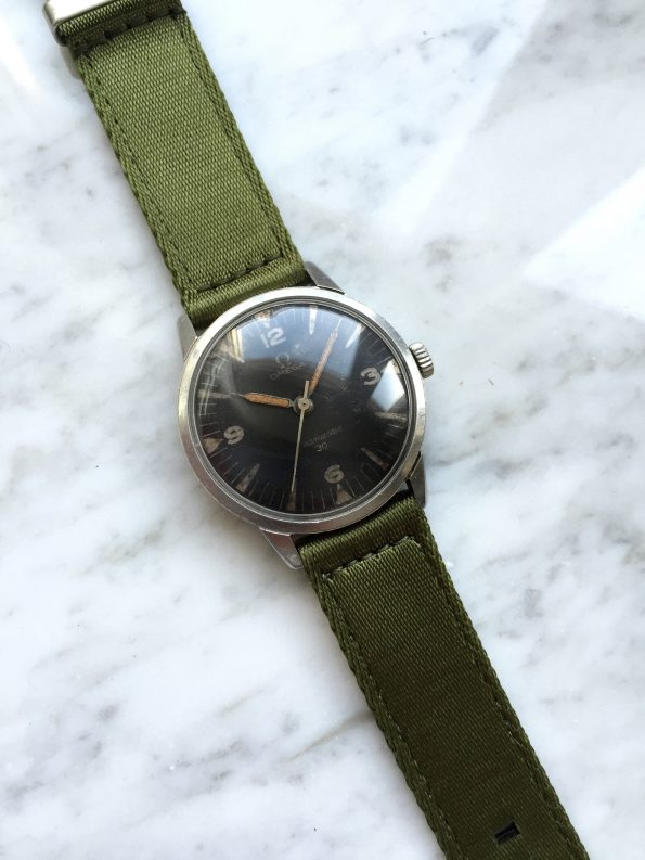 Vintage Omega Seamaster 30 PAF Pakistan Air Force