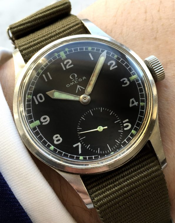 Rare Omega Military WWW Dirty Dozen RAF ww2