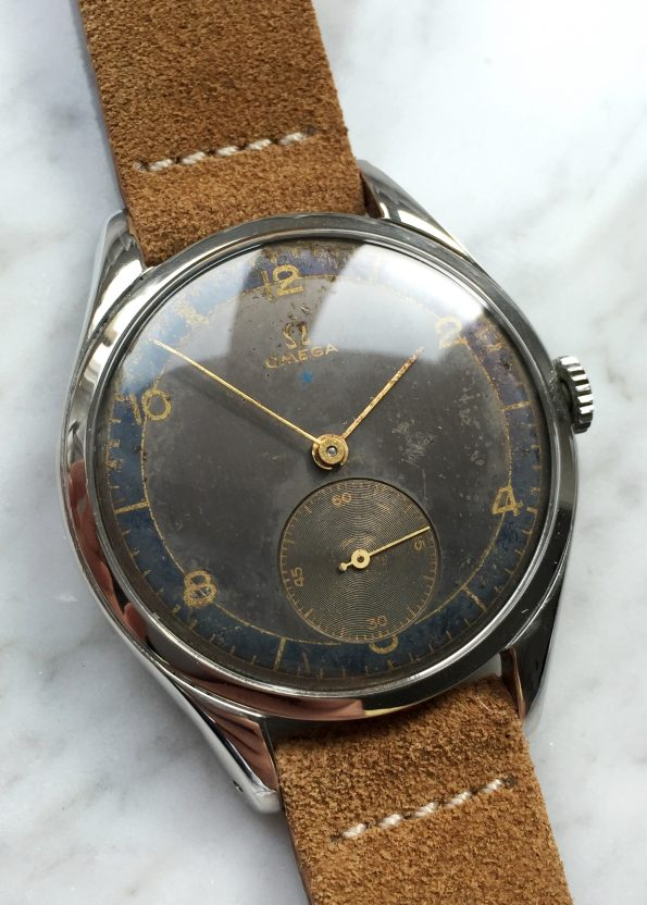 Early Omega Vintage Oversize Two Tone Dial 30T2