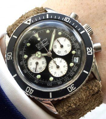 "Vintage Zenith el Primero de Luca ""Zenith Daytona"" Chronograph"