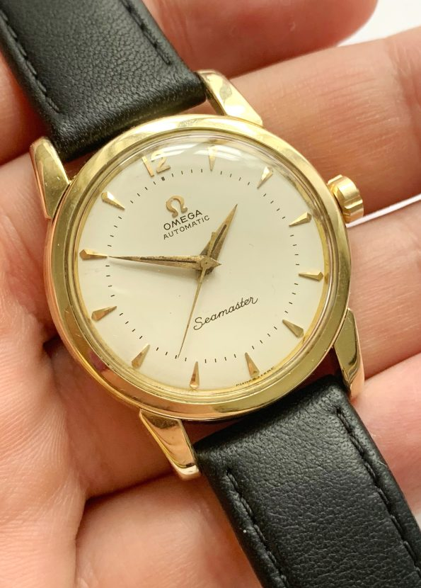 Refurbished Omega Seamaster Automatic Vintage Gold Plated