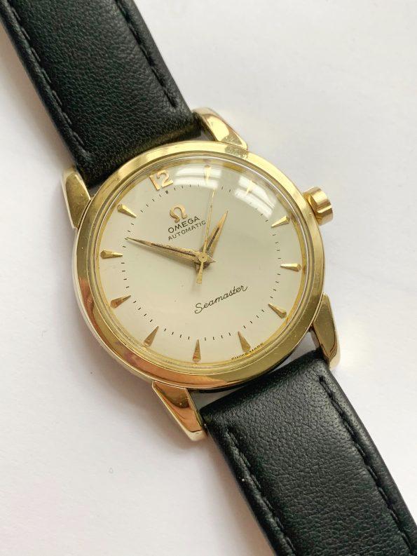 Restaurierte Omega Seamaster Automatik Vintage Vergoldet