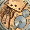 Vintage Omega Oversize Handwinding Crab Lugs Honeycomb Dial