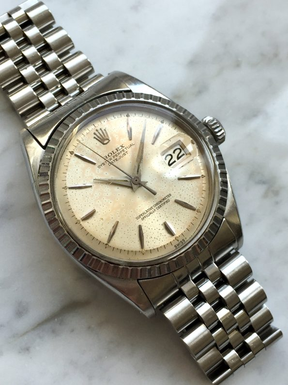 Beautiful Vintage Rolex Datejust Automatic CREAM Dial