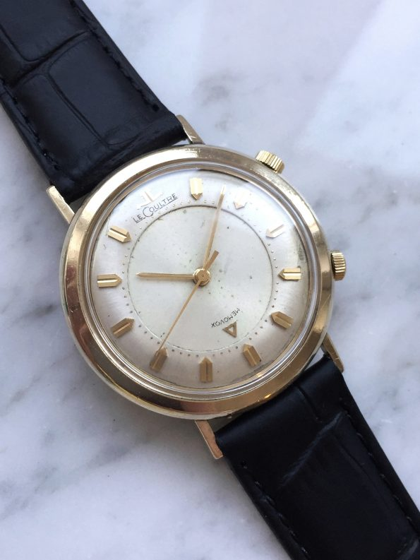 Vintage Jaeger LeCoultre Memovox with JLC Service for 1200 Euro