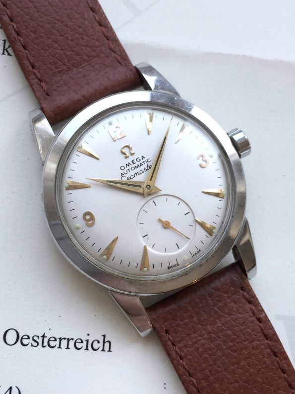 Omega Seamaster Steel Calatrava Case Bumper With Extract