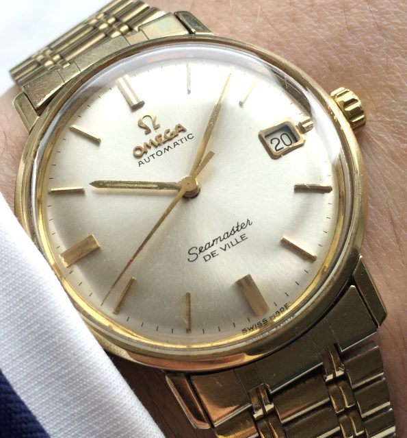 Stunning Omega Seamaster De Ville Automatic gold plated