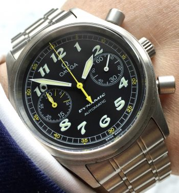 Vintage Omega Dynamic Automatic Chronograph Full Set