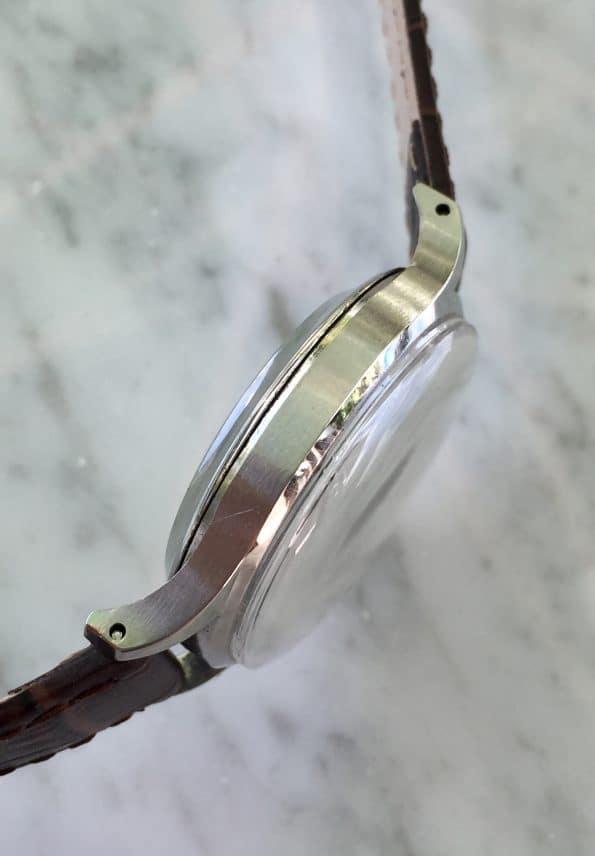 Chocolate Dial Jaeger LeCoultre Automatik Bumper Vintage