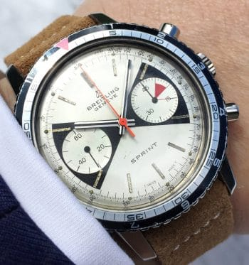Vintage Breitling Top Time Sprint 2010 Zorro