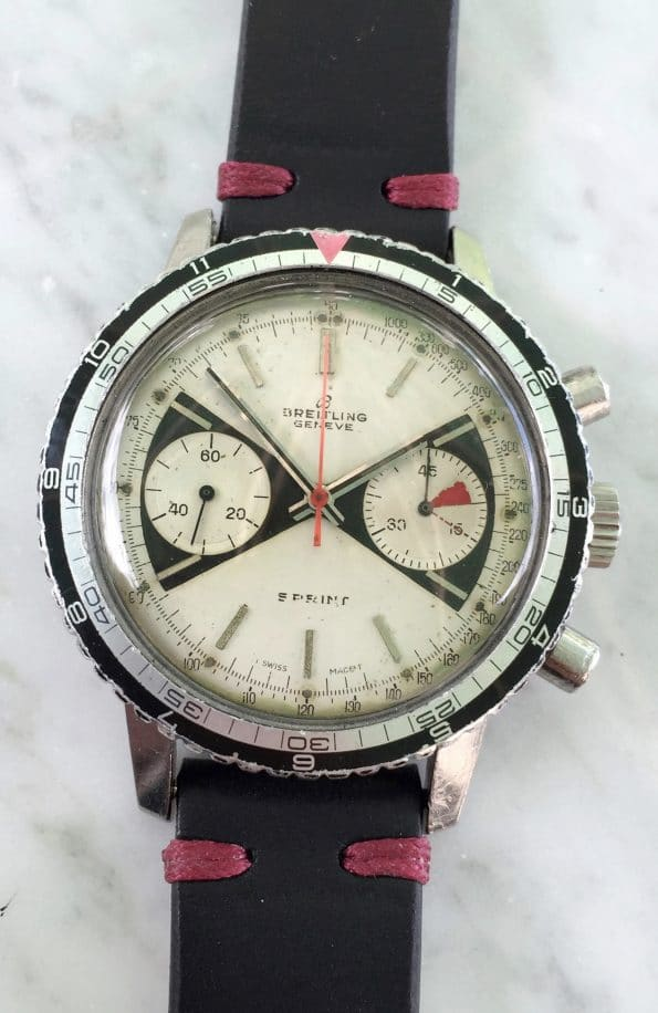 Great Vintage Breitling Top Time Sprint 2010 Zorro