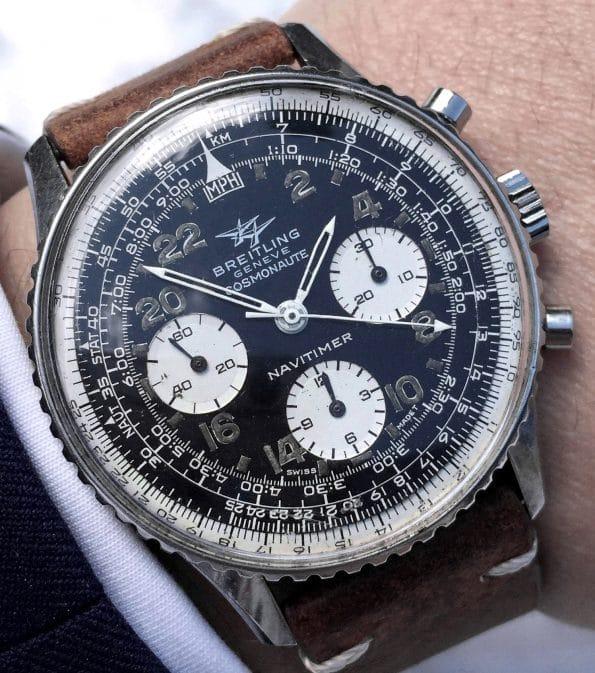 Vintage Breitling Navitimer Cosmonaute ref 809
