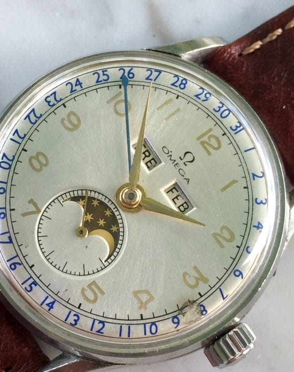 Great Omega Cosmic Triple Date Moonphase Calendar