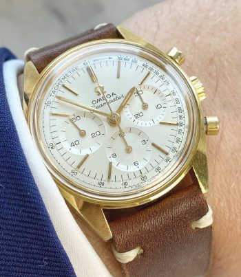Beautiful Vintage Omega Seamaster Chronograph cal 861