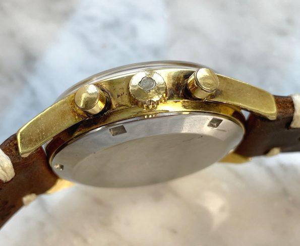 Schöne Vergoldete Omega Seamaster Chronograph cal 861 Vintage