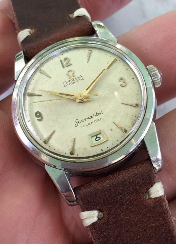 Omega Seamaster Bumper Automatic Vintage 6h Date