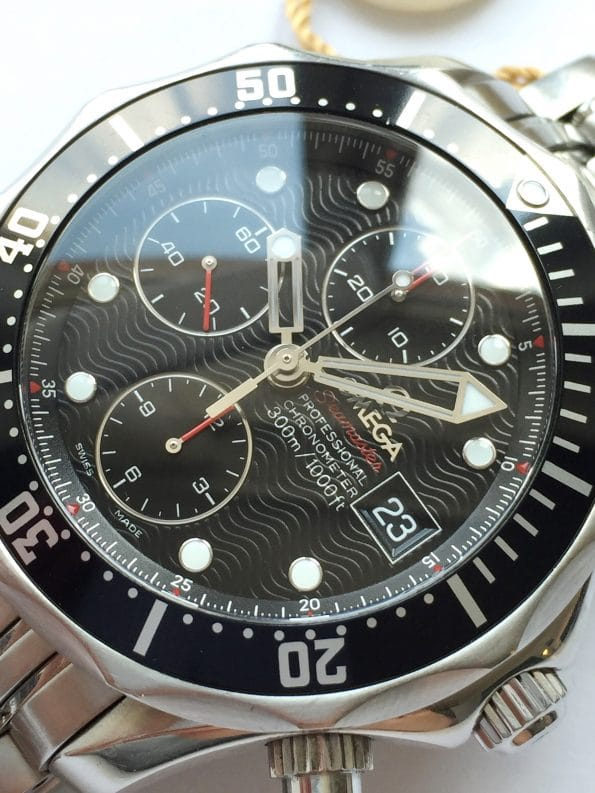 Vintage Omega Seamaster 300 Professional Diver Chronograph Full Set 41mm Automatic