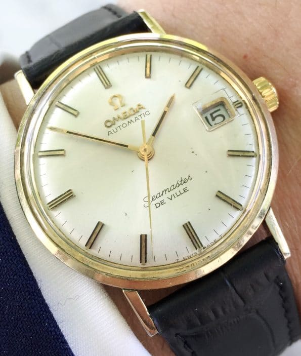 Great Vintage Gold Plated Omega Seamaster De Ville Automatic