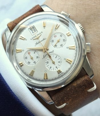 Longines Conquest Chronograph Vintage Full Set
