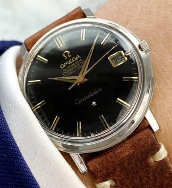 Omega Constellation Automatic Vintage black restored dial