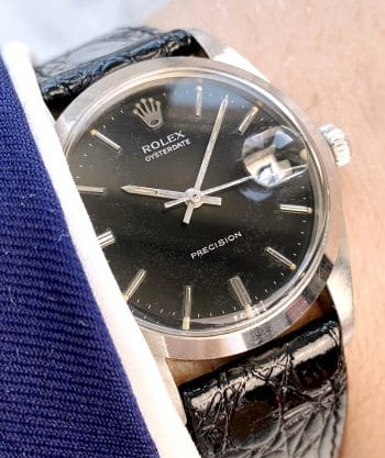 Unrestored BLACK Vintage Rolex 6694
