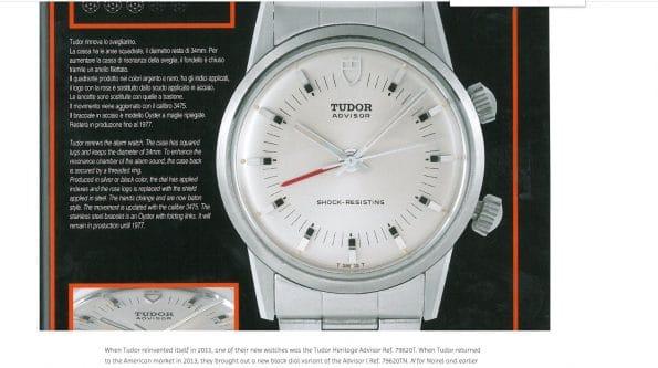 Seltene Tudor Advisor Memovox Wrist Alarm