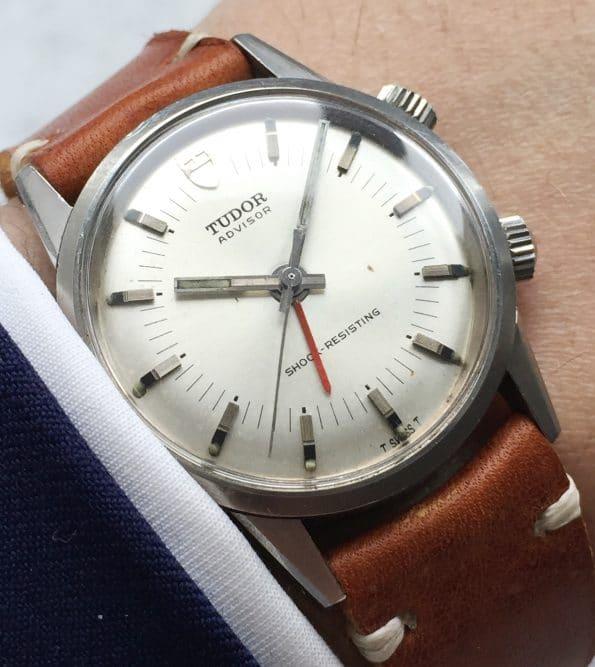 Rare Tudor Advisor Memovox Wrist Alarm