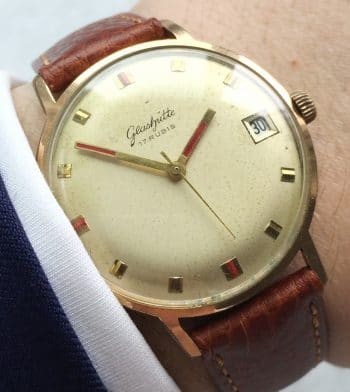 Vintage GUB Glashütte Watch