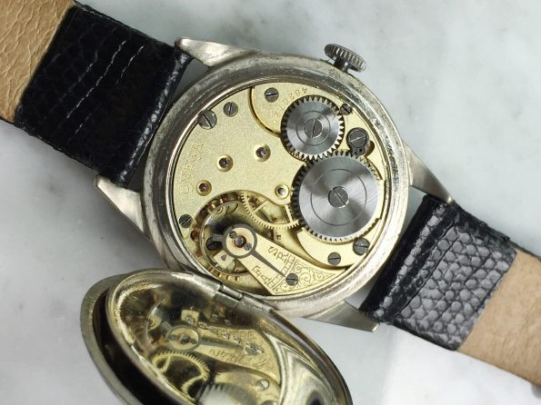 Very Early and BIG Omega Enamel Dial 35mm