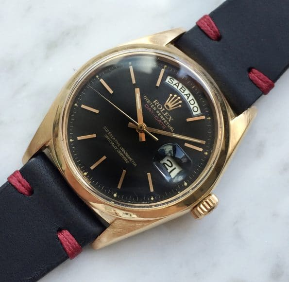 RARE PINK GOLD Beautiful Rolex Day Date President Ref 1803 restored