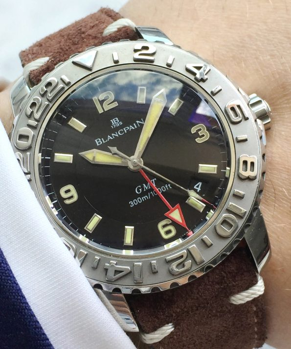 Blancpain Fifty Fathoms Trilogy GMT Steel Submariner 2250