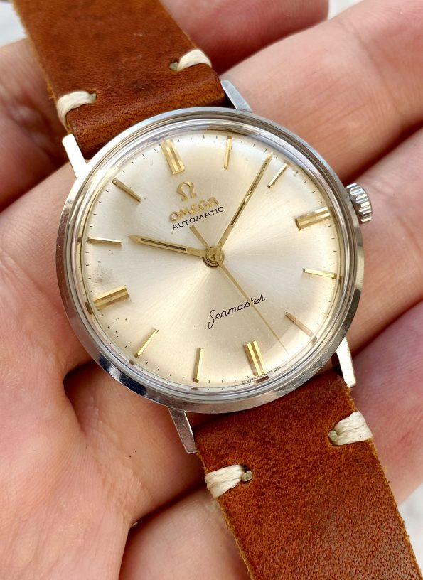 Great Omega Seamaster Pre De Ville Automatic Steel