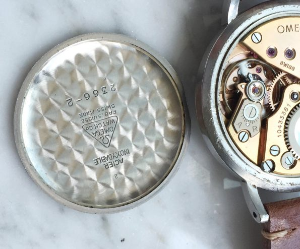 Erstklassiger Omega Chronometer 36mm 30t2 RG