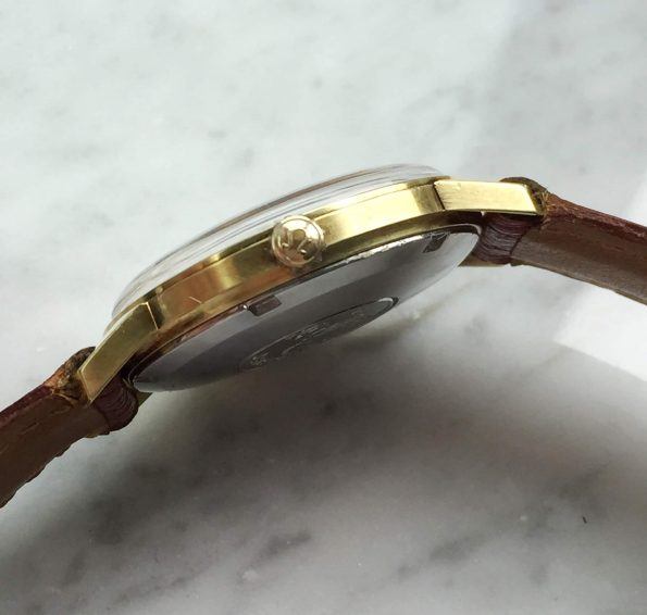 Beautiful Omega Pre Seamaster De Ville Automatic gold plated