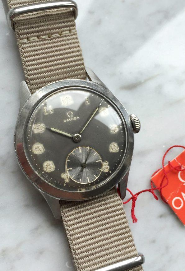 Serviced Vintage Omega ref 2622 Grey Dial HANGTAG