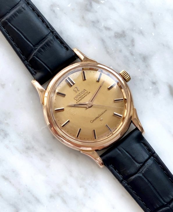 FULL SET Omega Constellation ROSE GOLD Automatic Vintage