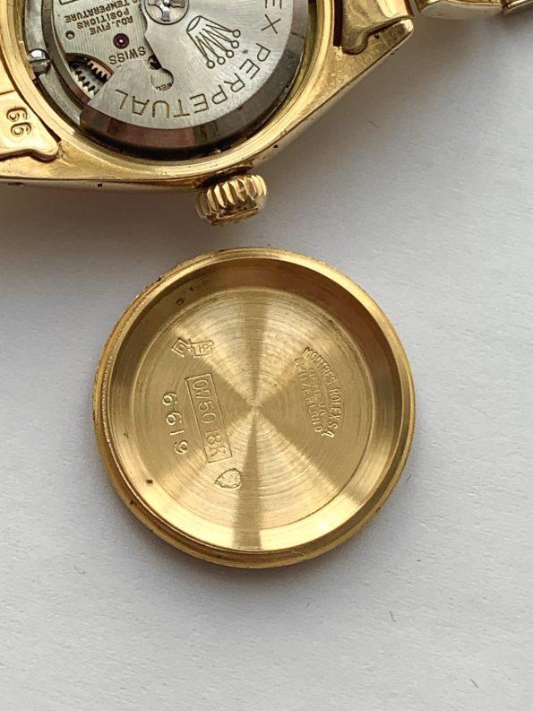 Vintage Rolex Damen Vollgold Automatik ref 6619