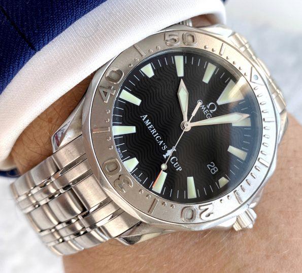 Vintage Omega Seamaster 300 James Bond Americas Cup Full Set Limited