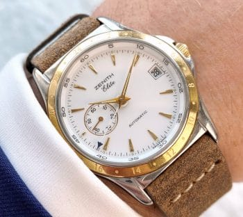 RECOMMENDED Zenith GMT Automatic Elite Dual Time 90-410030 682