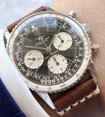 Vintage Breitling Navitimer Chronograph Ref 806 Serviced