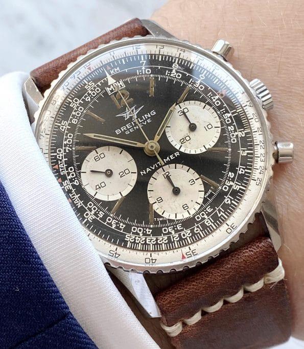 Servicierte Breitling Navitimer Chronograph Ref 806 Vintage