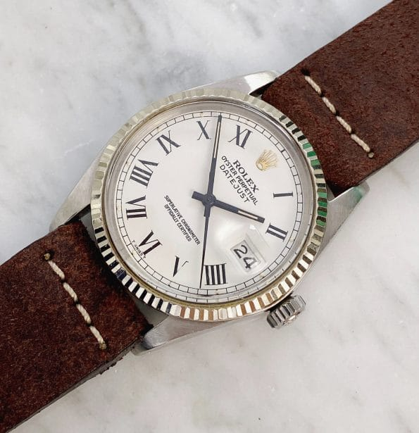 Great Vintage Rolex Datejust 1983 Buckley Dial 16014